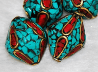 Turquosie Coral Beads