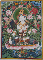 White Umbrella Deity Thangkas