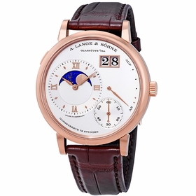 A. Lange & Sohne 139.032 Grand Lange 1 Moonphase Mens Hand Wind Watch