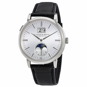 A. Lange & Sohne 384.026 Saxonia Moon Phase Mens Automatic Watch