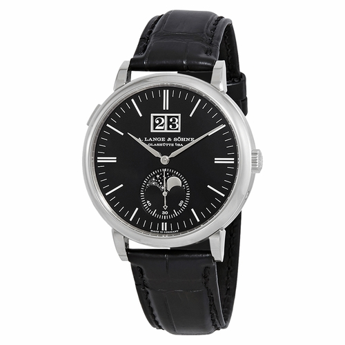 A. Lange & Sohne 384.029 Saxonia Moon Phase Mens Automatic Watch