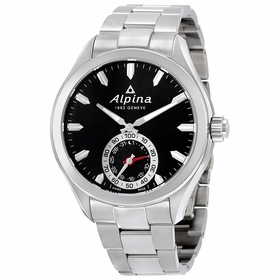 Alpina AL-285BS5AQ6B Horological Smartwatch Mens Quartz Watch