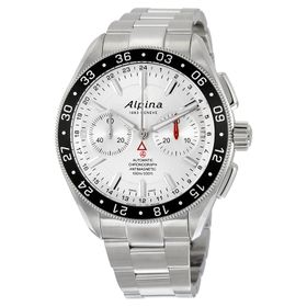 Alpina AL-860S5AQ6B Alpiner 4 Mens Chronograph Automatic Watch