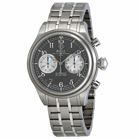 Ball CM1052D-S2J-GY Trainmaster Cannonball S Mens Chronograph Automatic Watch