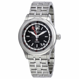 Ball GM1038C-SJ-BK Trainmaster GMT Mens Automatic Watch