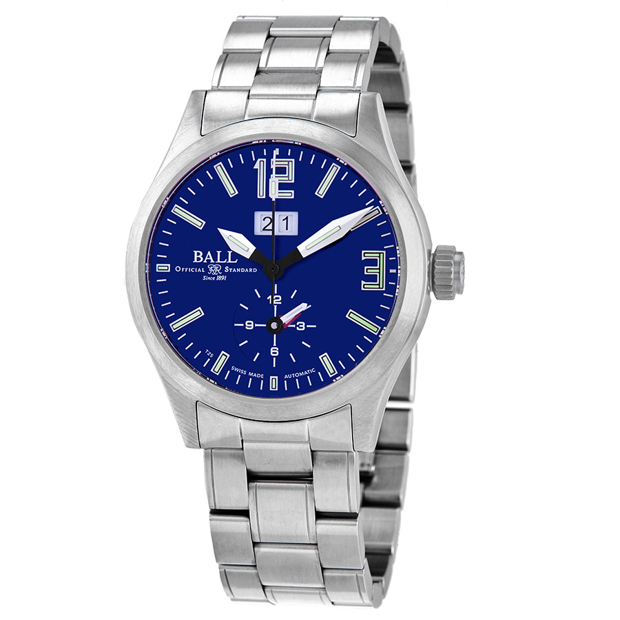 Ball Engineer Master II Voyager Automatic Blue Dial Men's Watch