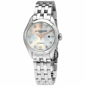 Baume et Mercier A10151 Clifton Ladies Automatic Watch