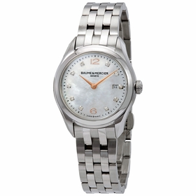 Baume et Mercier 10176 Clifton Ladies Quartz Watch