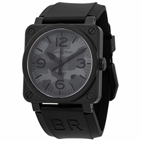 Bell and Ross BR0392-CAMO-CE/SRB Avaition Mens Automatic Watch