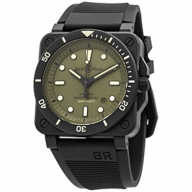 Bell and Ross BR0392-D-KA-CE/SRB Diver Military Mens Automatic Watch
