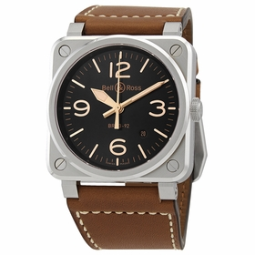 Bell and Ross BR0392-GH-ST/SCA Heritage Mens Automatic Watch