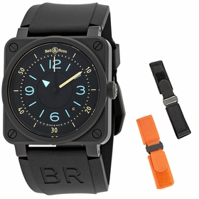 Bell and Ross BR0392-IDC-CE/SRB Bi-Compass Mens Automatic Watch