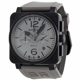 Bell and Ross BR0394-COMMANDO Aviation Mens Chronograph Automatic Watch
