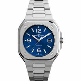 Bell and Ross BR05A-BLU-ST/SST BR 05 Blue Steel Mens Automatic Watch