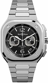 Bell and Ross BR05C-BL-ST/SST Instruments Mens Chronograph Automatic Watch