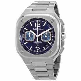 Bell and Ross BR05C-BU-ST/SST  Mens Chronograph Automatic Watch