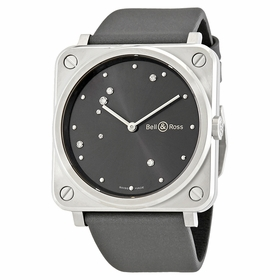 Bell and Ross BRS-ERU-ST/SCA Aviation Unisex Quartz Watch