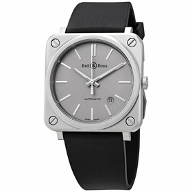 Bell and Ross BRS92-GR-ST/SRB Aviation Mens Automatic Watch