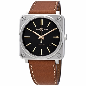 Bell and Ross BRS92-ST-G-HE/SCA Golden Heritage Mens Automatic Watch
