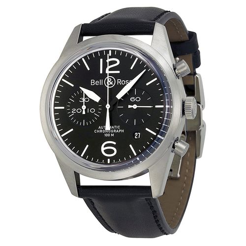 Bell and Ross BRV126-BL-ST/SCA Chronograph Automatic Watch