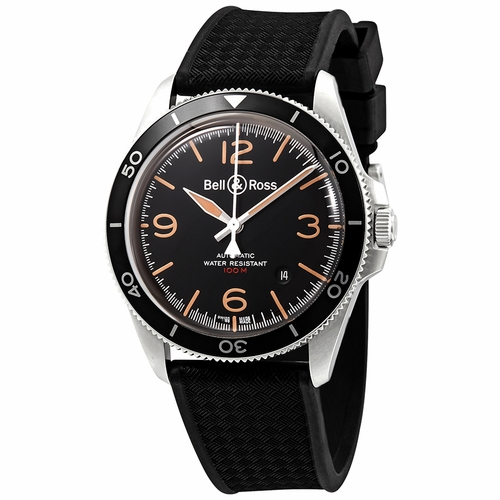 Bell and Ross BRV292-HER-ST/SRB Vintage Heritage Mens Automatic Watch