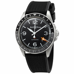 Bell and Ross BRV293-BL-ST/SRB Vintage V2-93 Mens Automatic Watch