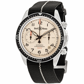 Bell and Ross BRV294-BEI-ST/SF  Mens Chronograph Automatic Watch