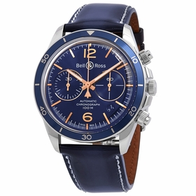Bell and Ross BRV294-BU-G-ST/SCA Chronograph Automatic Watch