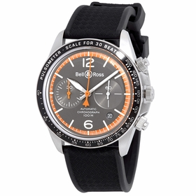 Bell and Ross BRV294-ORA-ST/SRB Garde Cotes Mens Chronograph Automatic Watch