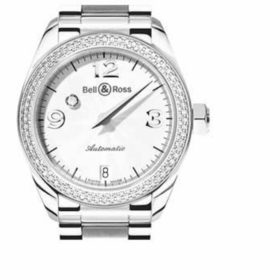 Bell and Ross MD 2DSIL U Mystery Diamond Ladies Automatic Watch