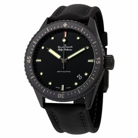 Blancpain 5000-0130-B52A Fifty Fathoms Bathyscaphe Mens Automatic Watch