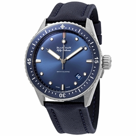 Blancpain 5000-0240-O52A Fifty Fathoms Bathyscaphe Mens Automatic Watch