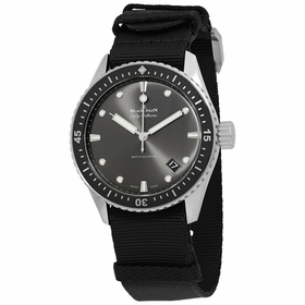 Blancpain 5000-1110-NABA Fifty Fathoms Bathyscaphe Mens Automatic Watch