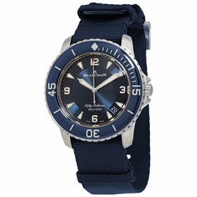 Blancpain 5015-12B40-NAOA Fifty Fathoms Mens Automatic Watch