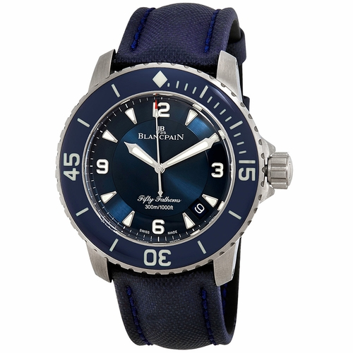 Blancpain 5015-12B40-O52A Fifty Fathoms Mens Automatic Watch