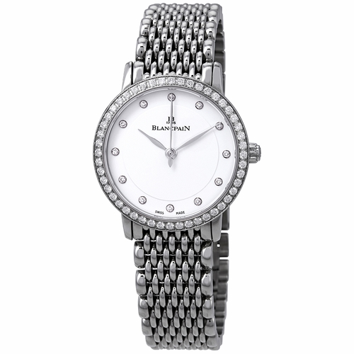 Blancpain 6102-4628A-MMB Villeret Ladies Automatic Watch