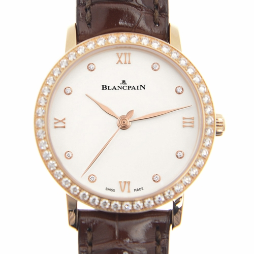 Blancpain 6104-2987-55A Villeret Ladies Automatic Watch