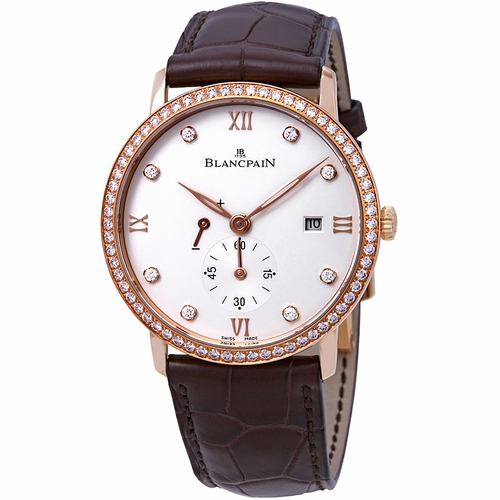 Blancpain 6606-2987-55B Ultraplate Mens Hand Wind Watch