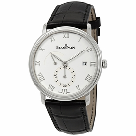 Blancpain 6606A-1127-55B Villeret Mens Hand Wind Watch