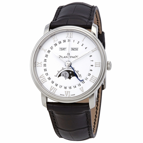 Blancpain 6654-1127-55B Villeret Moonphase Mens Automatic Watch