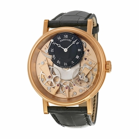 Breguet 7057BR/R9/9W6 Tradition Mens Hand Wind Watch