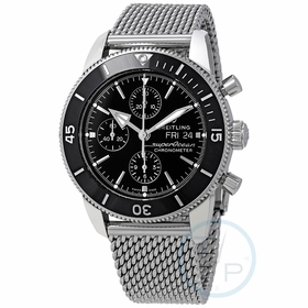 Breitling A13313121B1A1 Superocean Heritage II Mens Chronograph Automatic Watch