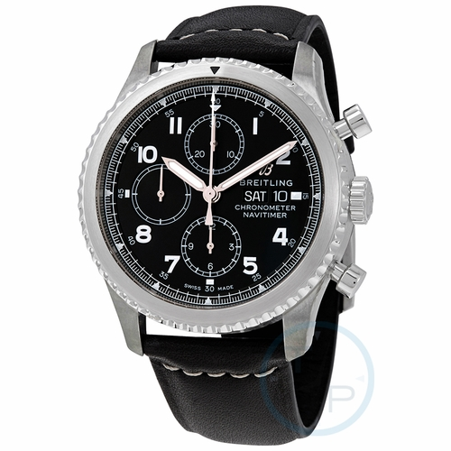 Breitling A13314101B1X1 Navitimer 8 Mens Chronograph Automatic Watch