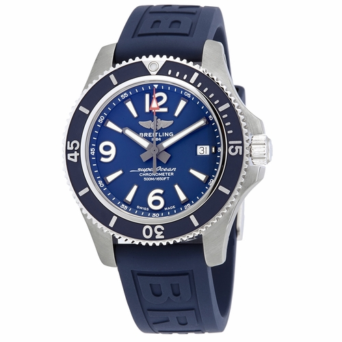 Breitling Automatic Chronometer Blue Dial Men's Watch