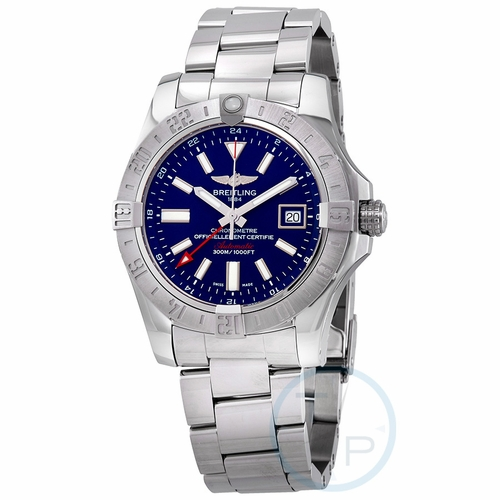 Breitling A32390111C1A1 Avenger II GMT Mens Automatic Watch