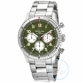 Breitling AB01192A1L1A1 Aviator 8 Curtiss Warhawk Mens Chronograph Automatic Watch