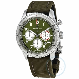 Breitling AB01192A1L1X2 Aviator 8 Curtiss Warhawk Mens Chronograph Automatic Watch