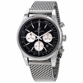 Breitling AB015212/BF26/154A Transocean Mens Chronograph Automatic Watch