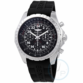 Breitling AB022022/BC84BKRD Bentley 24H Mens Chronograph Hand Wind Watch