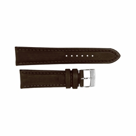 Breitling Brown Leather Strap Stainless Steel Tang Buckle 22-20mm